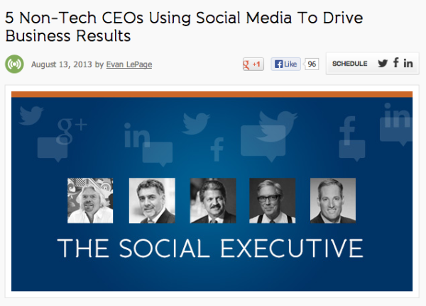 5 Non Tech CEOs Using Social Media To Drive Business Results resized 600