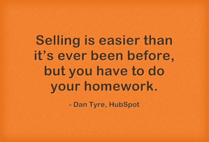 Dan Tyre on Sales Today