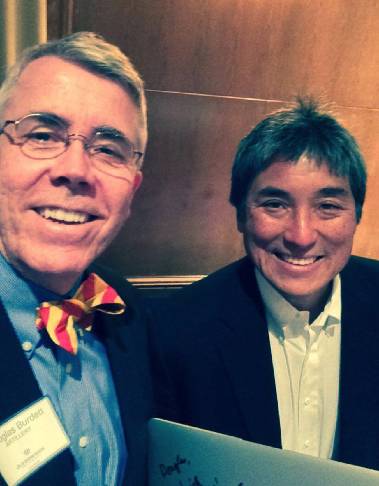 Guy Kawasaki and Douglas Burdett
