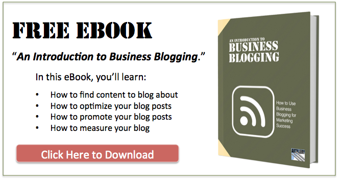 Introduction to Business Blogging