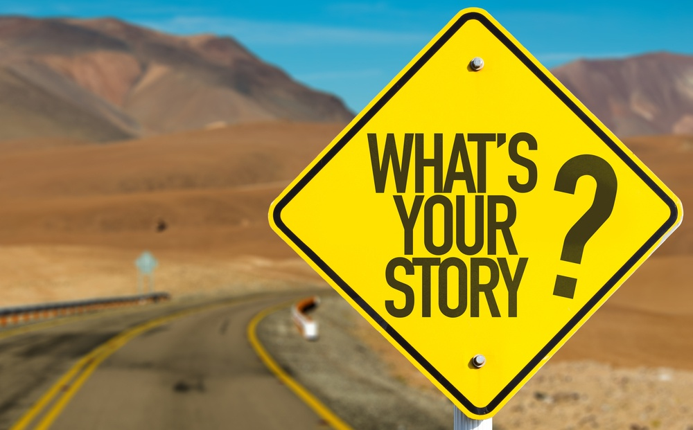 Whats Your Story? sign on desert road.jpeg