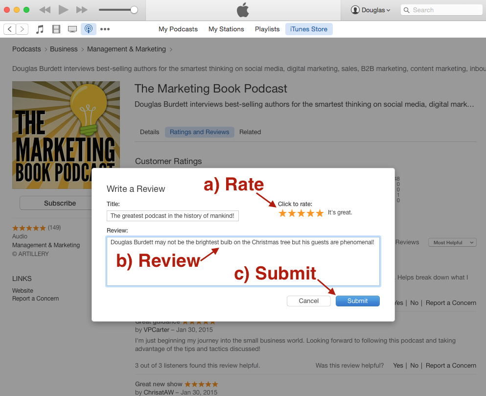 how_to_rate_and_review_a_podcast_in_iTunes